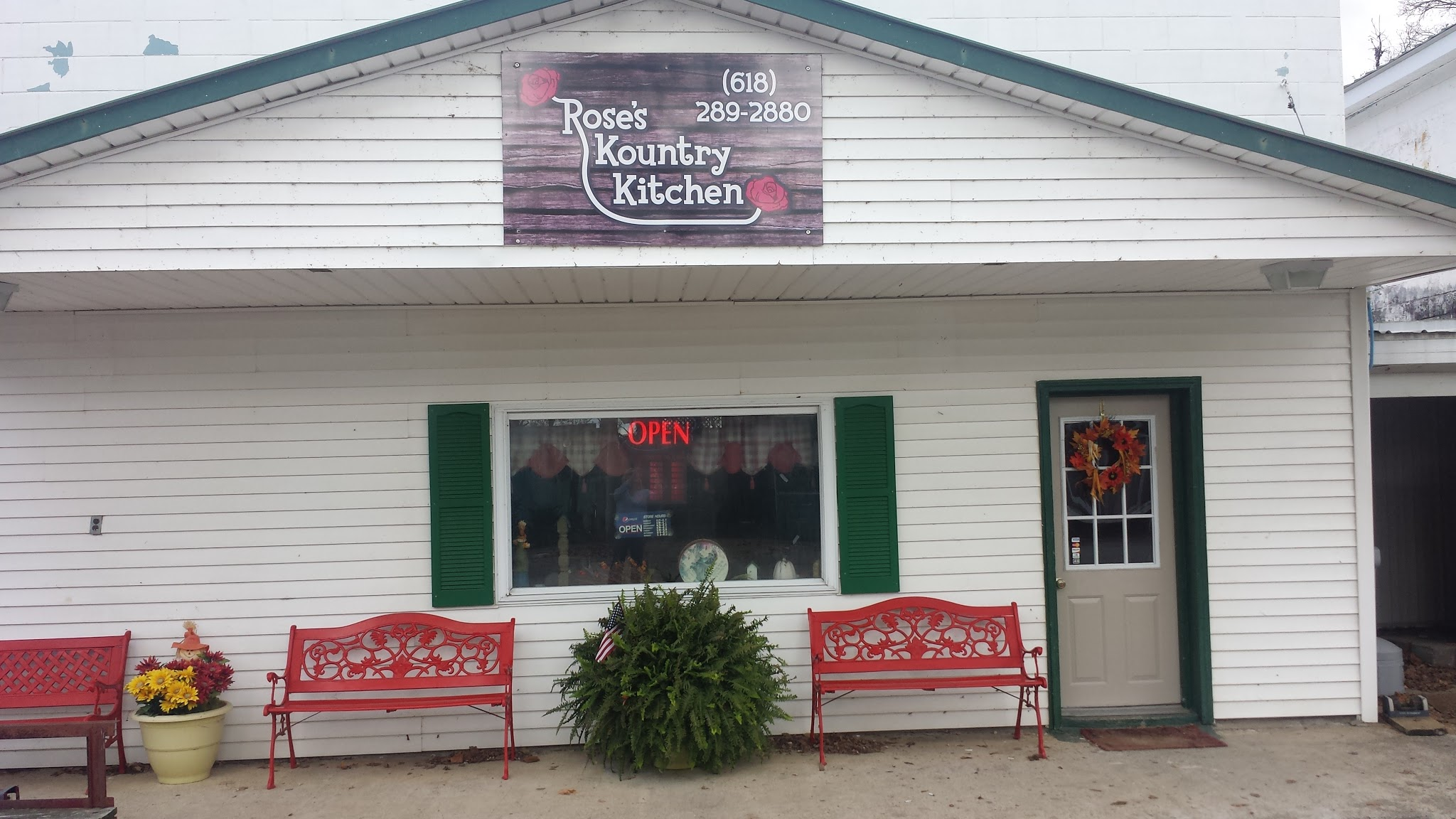 Rose\'s Kountry Kitchen - Ohio River Scenic Byway Illinois